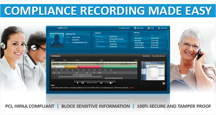 compliance call recording solutions